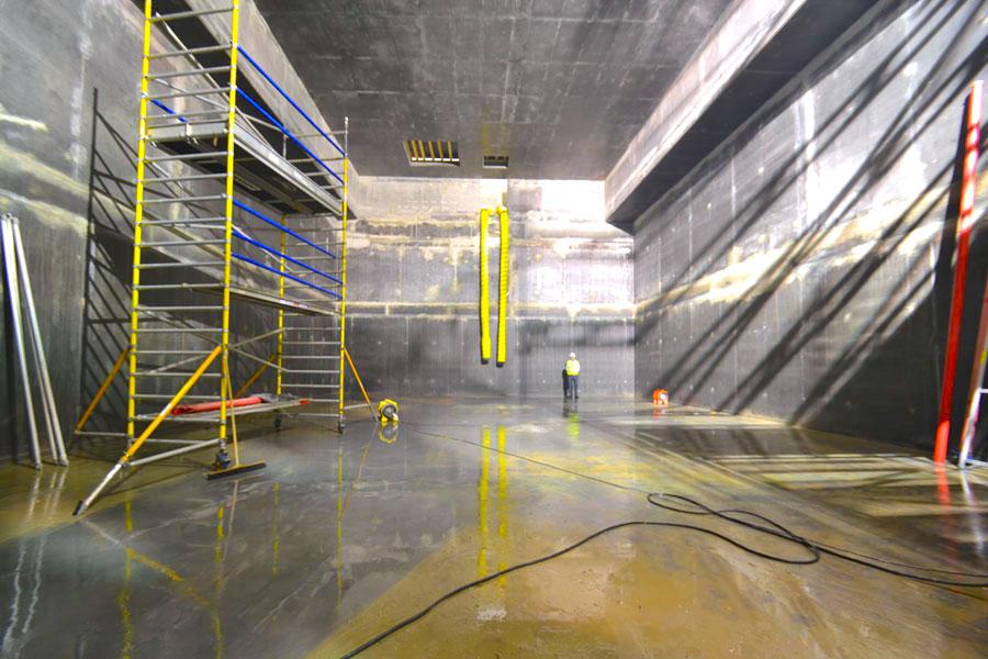 Video Wirkungsweise Industrie Boden controll innerseal plus partner SALP Construction Deutschland