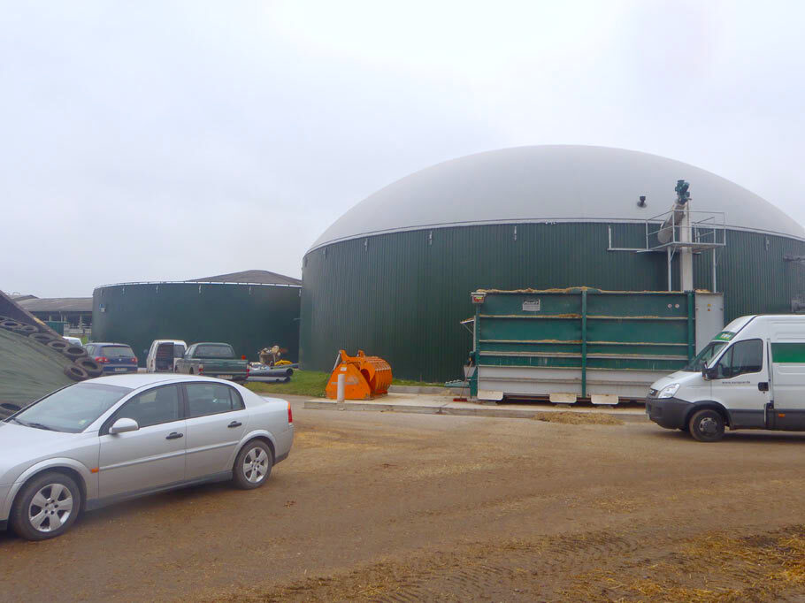 Biogas Messdorf komsol controll innerseal plus partner SALP Construction Deutschland