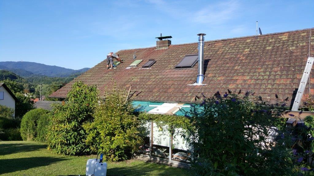Dachziegel Ziegel Dach Daecher versiegeln controll topseal partner SALP Construction Deutschland