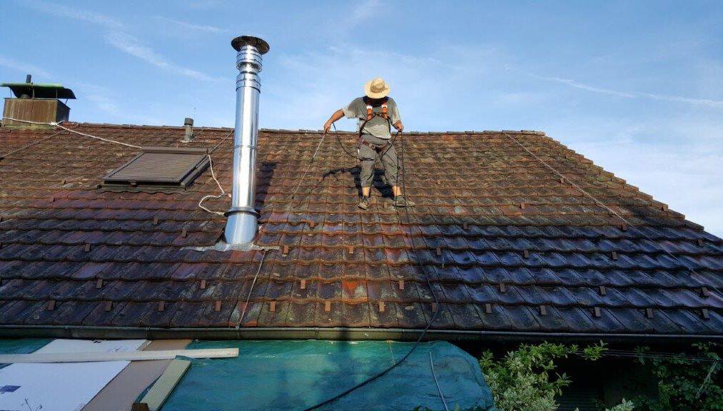 Dachziegel Ziegel Dach Daecher versiegeln schutz controll topseal partner SALP Construction Deutschland