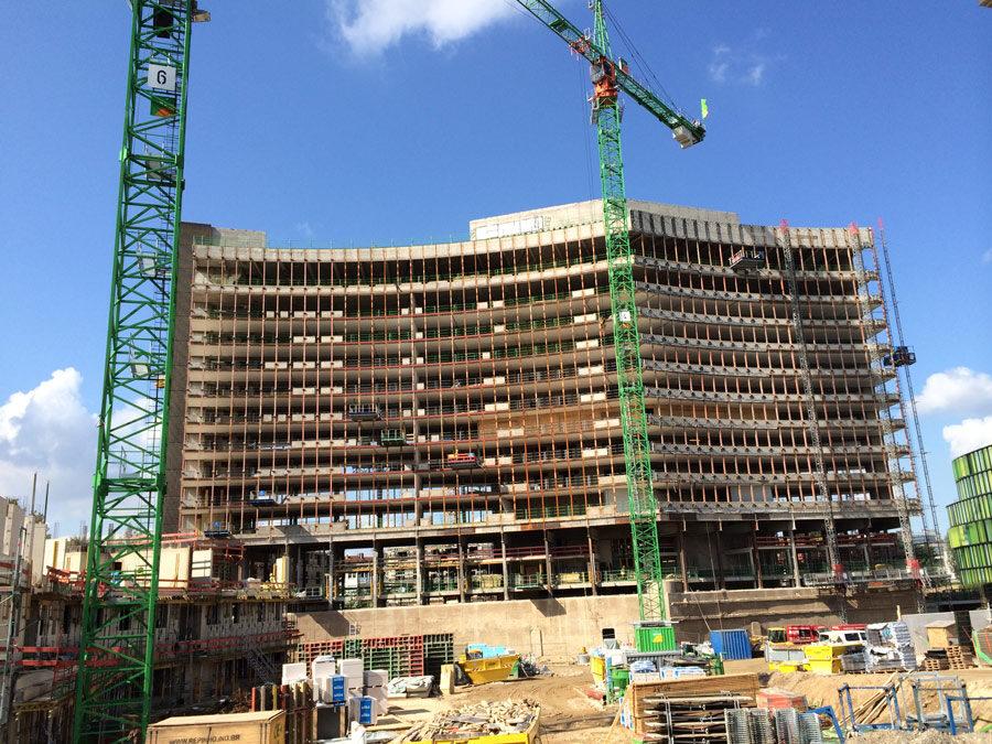 Fassade Gewerbe Immobilie Office Building versiegeln controll topseal partner SALP Construction Deutschland