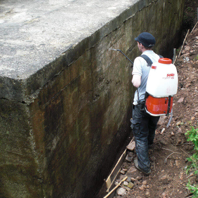 Fundament Schaeden beton korrosion komsol controll innerseal plus partner SALP Construction Deutschland
