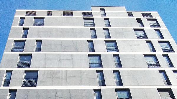 Gebäude Sichtbeton versiegeln controll topseal partner SALP Construction Deutschland