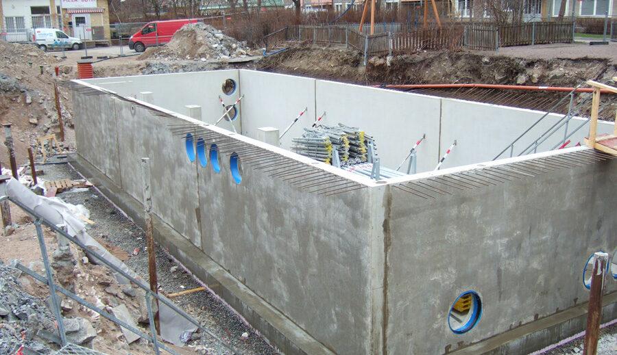 Keller Feuchtigkeit komsol controll innerseal Topseal partner SALP Construction Deutschland Boden 2