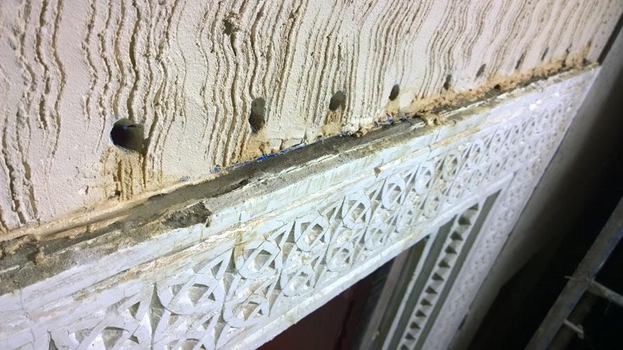 Old Palace Qatar Dachboden Stein Schutz Haltbarkeit komsol controll innerseal plus partner SALP Construction Deutschland 3