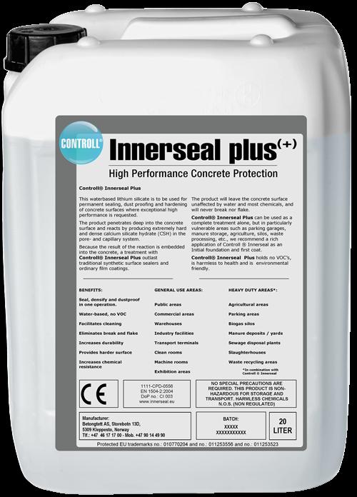 CONTROLL Innerseal Plus Produkt Kanister original Deutschland SALP Construction